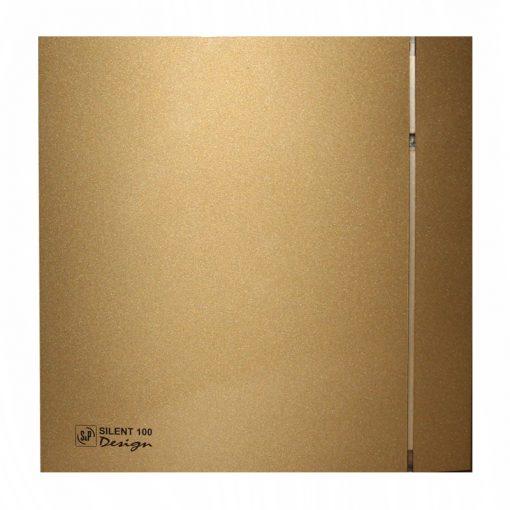 هواکش اس اند پی 10 سانتی متر طلایی بی صدا ساخت اسپانیا